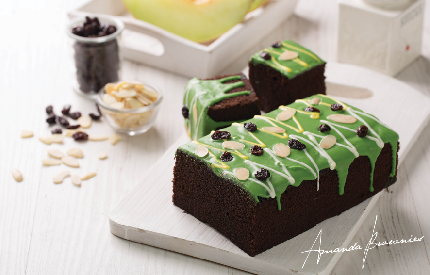 harga brownies amanda green marble