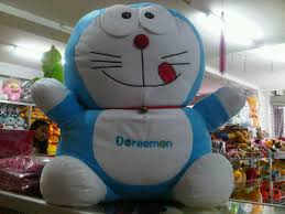 harga boneka doraemon besar