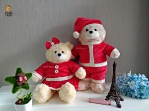 harga boneka teddy bear natal