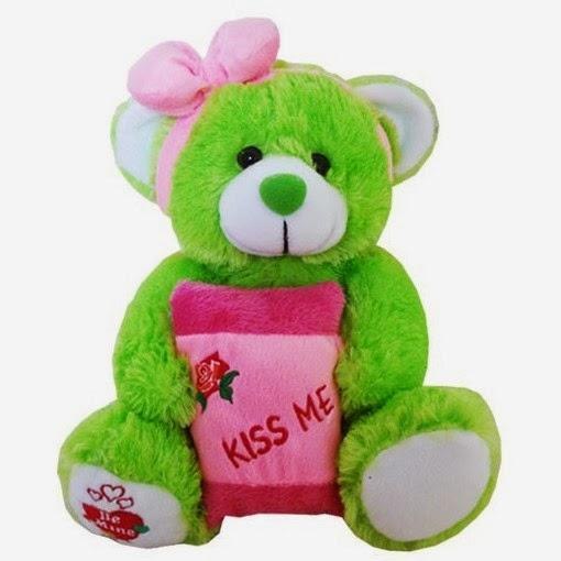 harga boneka teddy bear warna hijau