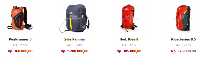 harga cycling bags eiger